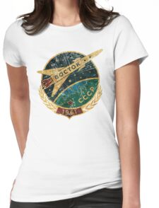 CCCP Boctok 1961 Womens Fitted T-Shirt