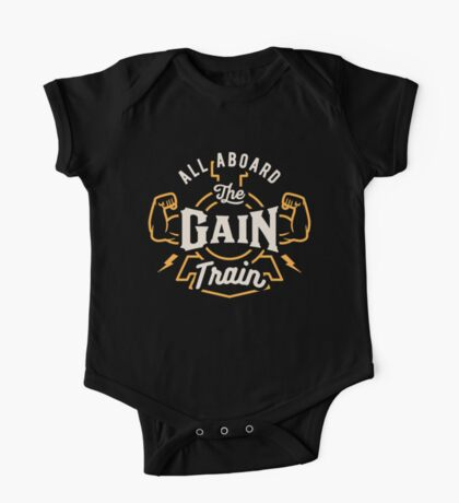 All Aboard The Gain Train One Piece - Short Sleeve