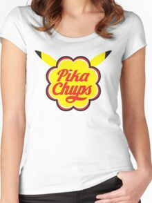 Pika Chups Women's Fitted Scoop T-Shirt