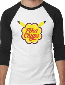 Pika Chups Men's Baseball ¾ T-Shirt