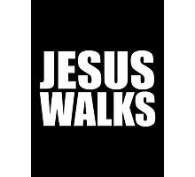 Jesus Walks - Kanye West Photographic Print
