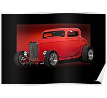 1932 Ford HiBoy Coupe Poster