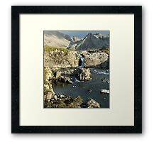 The Fairy Pools, Glen Brittle, No 3 Framed Print