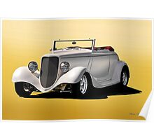 1933 Ford Cabriolet 'Studio' Poster