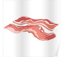 Glitch Food bacon Poster