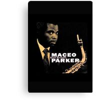 Maceo Parker Canvas Print
