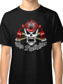 Fire Fighter Skull 2.12 Classic T-Shirt