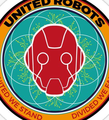 United Robots Sticker