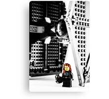Fly Girl Canvas Print
