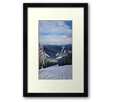 Carpathians View Framed Print