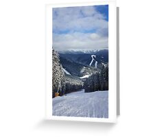 Carpathians View Greeting Card