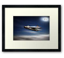 Lightning F3 Framed Print