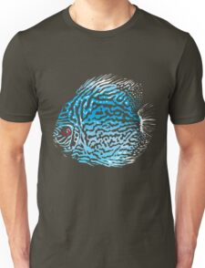 Blue Discus Unisex T-Shirt