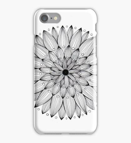 flower mandala art work iPhone Case/Skin