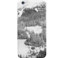 A Wintry Return to the Village iPhone Case/Skin