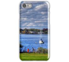 Rhode Island shore iPhone Case/Skin