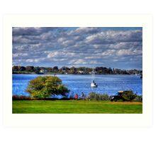 Rhode Island shore Art Print