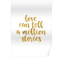 Love Can Tell A Million Stories | Falsettos Poster