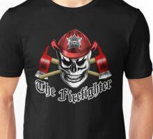 Firefighter Skull 4.4 Unisex T-Shirt