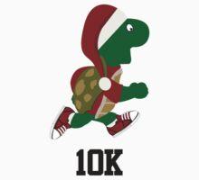 Santa Turtle Runner 10K One Piece - Short Sleeve