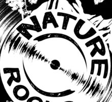 Nature Rocks Sticker
