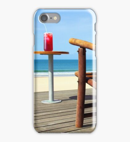 Chair Cocktail iPhone Case/Skin