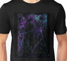 USGS TOPO Map California CA Chico 297080 1949 62500 geo Inverted Unisex T-Shirt