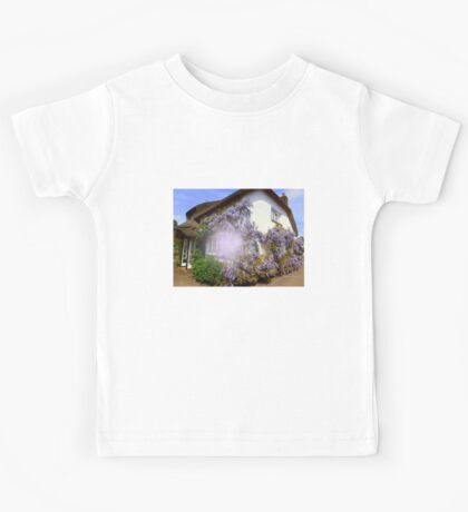 Clothed in Wisteria Kids Tee