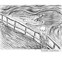 The Scream- Edvard Munch Photographic Print