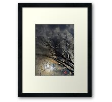 canadian frontiers 7 Framed Print