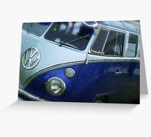 VW Camper Van Split Screen Greeting Card