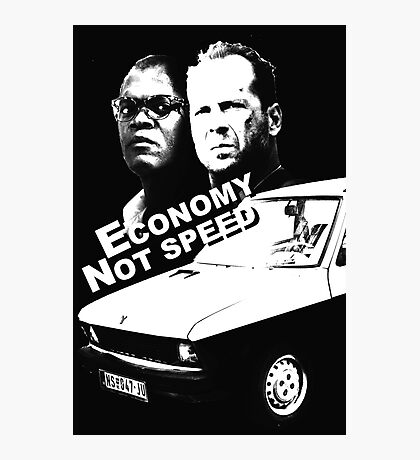 Economy not speed Photographic Print
