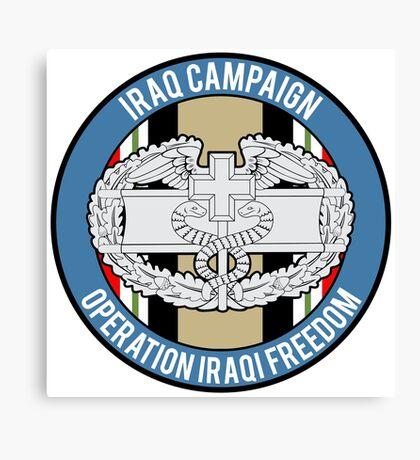 Combat Medic Iraq Veteran Canvas Print