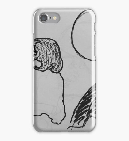 Reportage Sketch: Foreplay Goes South 1-10-17 iPhone Case/Skin