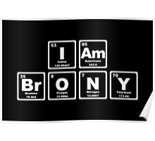 I Am Brony - Periodic Table Poster