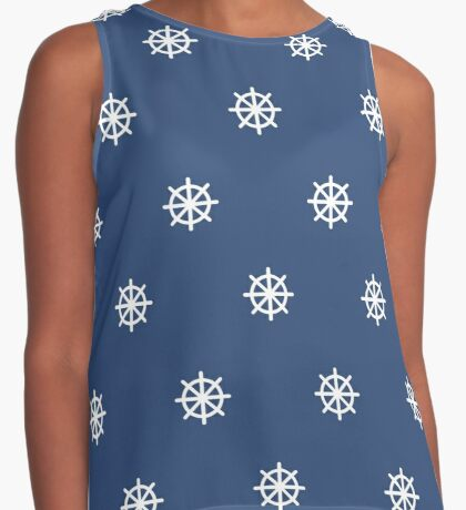 ship wheel pattern Contrast Tank