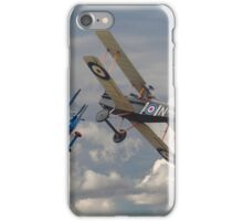 Fokker DVII and SE5 Head to Head iPhone Case/Skin