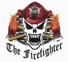 Fire Fighter Skull 2.7 One Piece - Long Sleeve