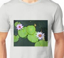 Lily Pads & Flowers - original nature photography  Unisex T-Shirt