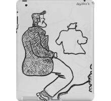 Reportage Sketch: Foreplay Goes South 1-10-17 iPad Case/Skin