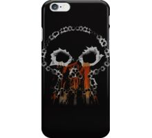 Gunshots Holes Headbone Skull   iPhone Case/Skin