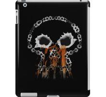 Gunshots Holes Headbone Skull   iPad Case/Skin
