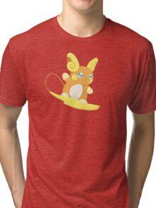Alolan Raichu Tri-blend T-Shirt
