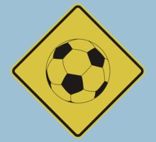 Soccer - Football - Footy - Traffic Sign - Diamond Kids Clothes
