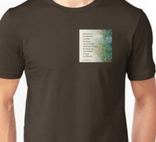 Serenity Prayer Pine Branches Unisex T-Shirt