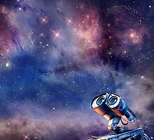 Wall-e in the universe by hilarydewitt