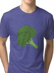 Glitch Food broccoli Tri-blend T-Shirt
