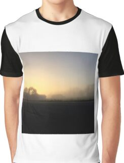 Misty Morning  Graphic T-Shirt