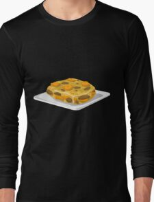 Glitch Food bubble and squeak Long Sleeve T-Shirt