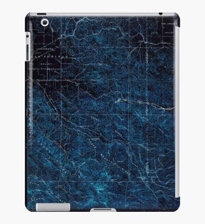USGS TOPO Map California CA Tesla 298994 1907 62500 geo Inverted iPad Case/Skin